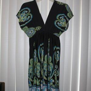 Woman's Medium Size Baily Blue dress